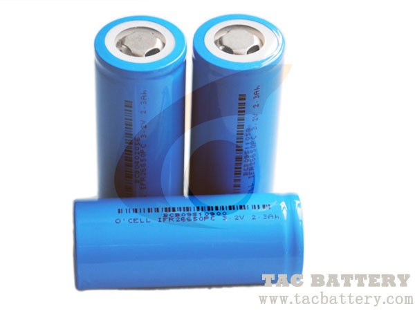 18650 Rechargeable Lithium Ion Phosphate 3.2V LiFePO4 Battery for Solar System