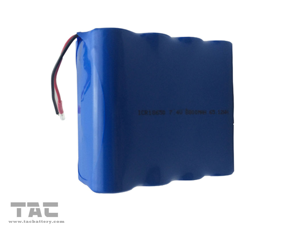 ICR18650 7.4V 8800MAH 65.12WH Rechargeable Lithium Ion Battery For Medical Device