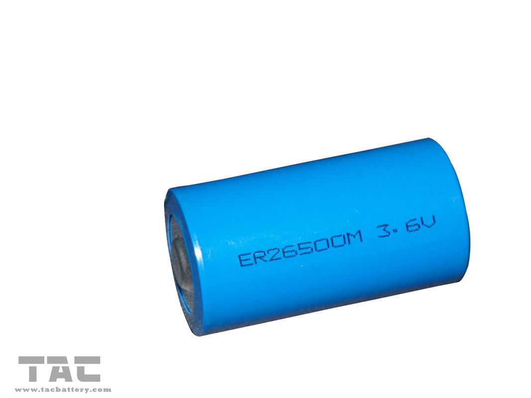 Primary  lithium LiSOCl2 Battery ER26500M 3.6V with Long Self-Life for flow meters