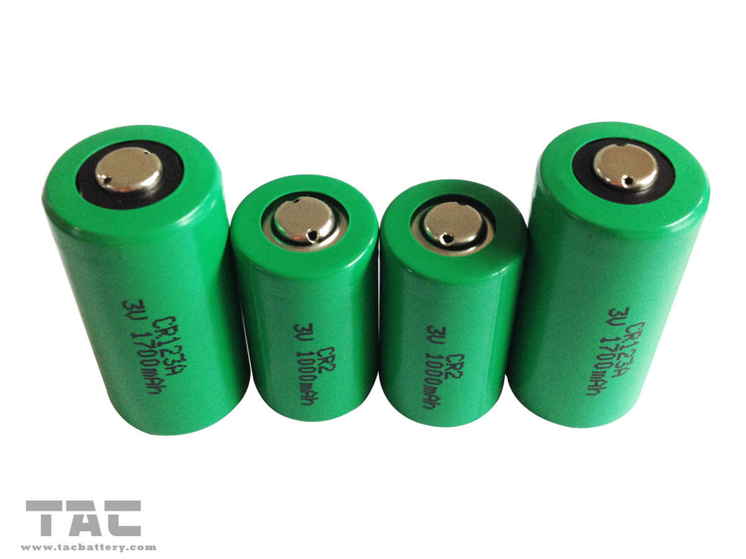 CR123A Battery Primary Lithium Battery 1700mah Similar With Panasonic