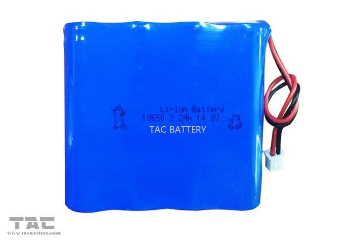 12v Lithium Ion Battery Pack 18650 4S 14.8V 2200mAh for Electronic Instruments
