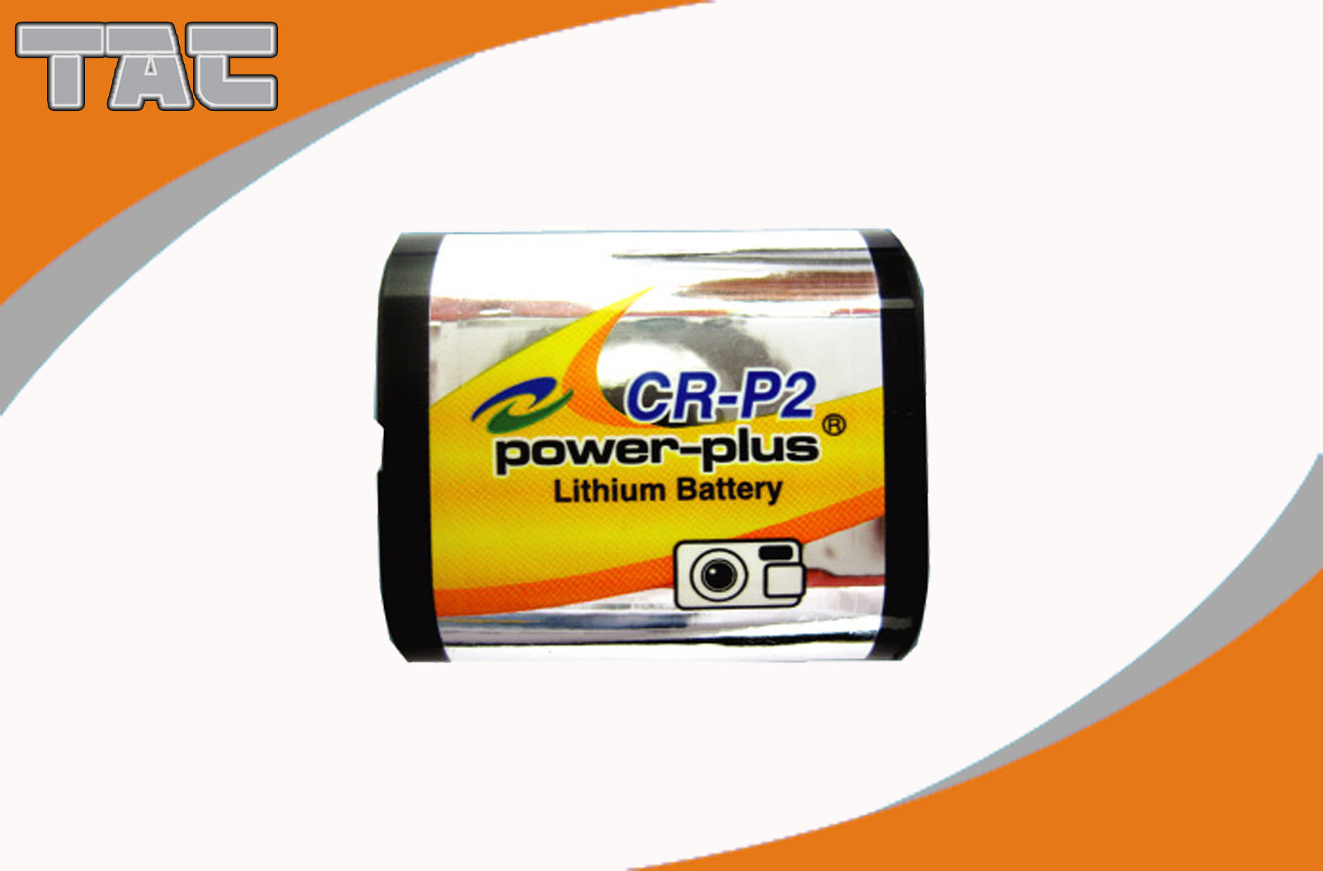 Vehicle Tracking Lithium Battery CR-P2 3.0V 1300mAh High Energy
